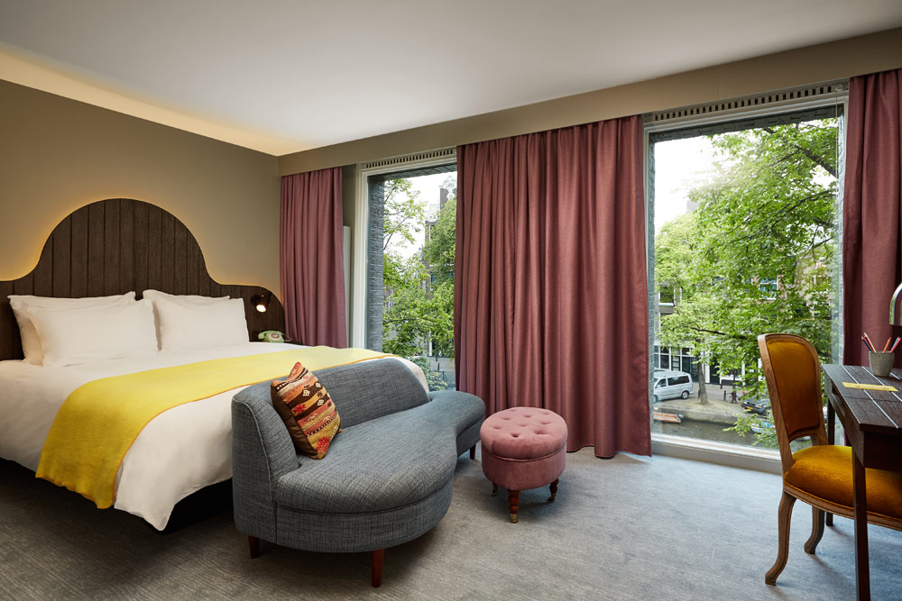 Guest Room at Hotel Pulitzer, Amsterdam, North-Holland, Netherlands