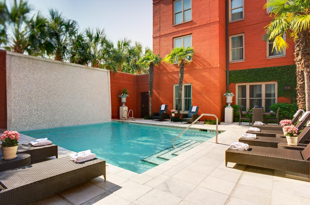 Outdoor Pool at The Mansion on Forsyth ParkSavannahGA