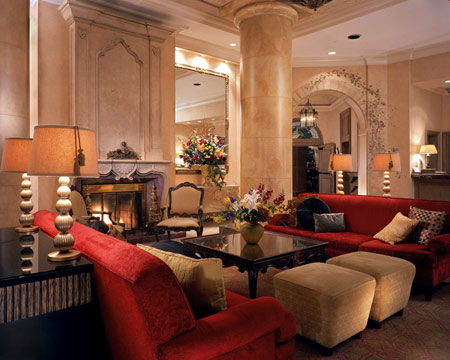 The Lobby at Loews Denver Hotel