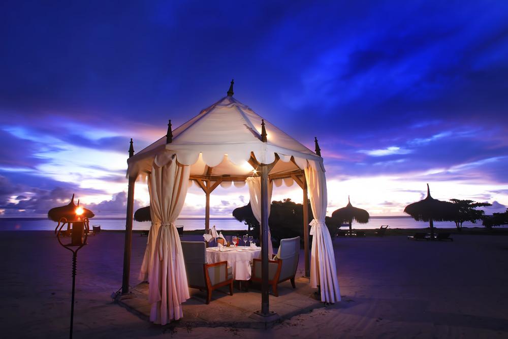 Private Dining at Maradiva Villas Resort and Spa, Mauritius