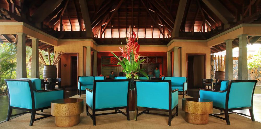 Maradiva Villas Resort and Spa Lobby, Mauritius