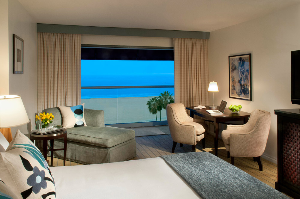 Loews Santa Monica Beach Hotel Coastal King roomCA