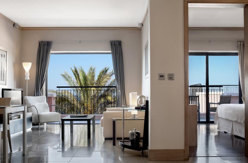 Deluxe Bay View Suite at Westin Dragonara Resort Malta