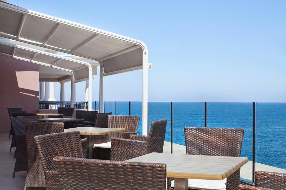 Executive Lounge Terrace at Westin Dragonara Resort Malta