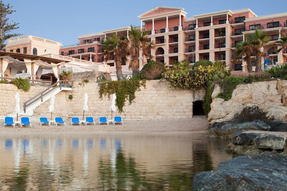 Sandy Cove at Westin Dragonara Resort Malta