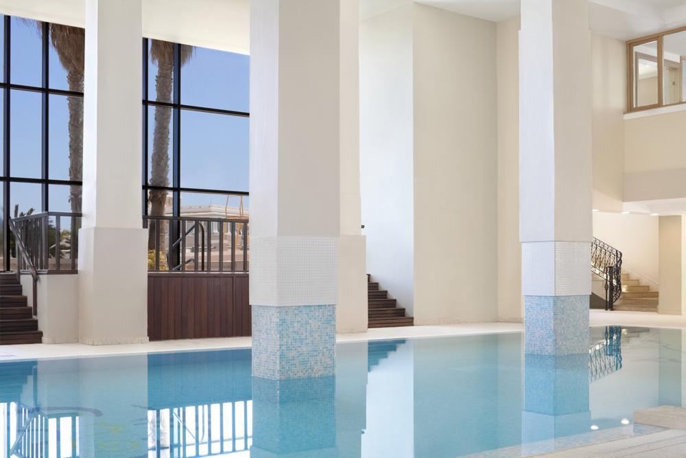 Indoor Pool at Westin Dragonara Resort Malta