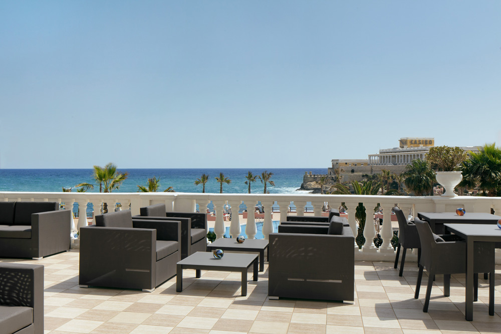 Verandah Lounge at Westin Dragonara Resort Malta