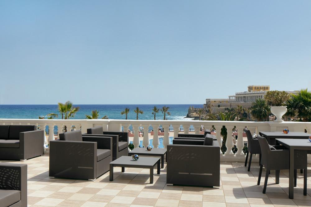 Verandah Lounge at Westin Dragonara Resort Malta
