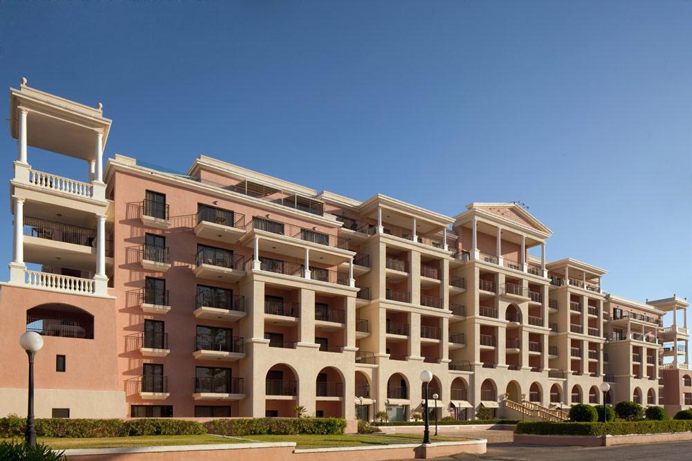 Exteior of Westin Dragonara Resort Malta