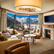Suite Living Room at Resort at Squaw CreekCA