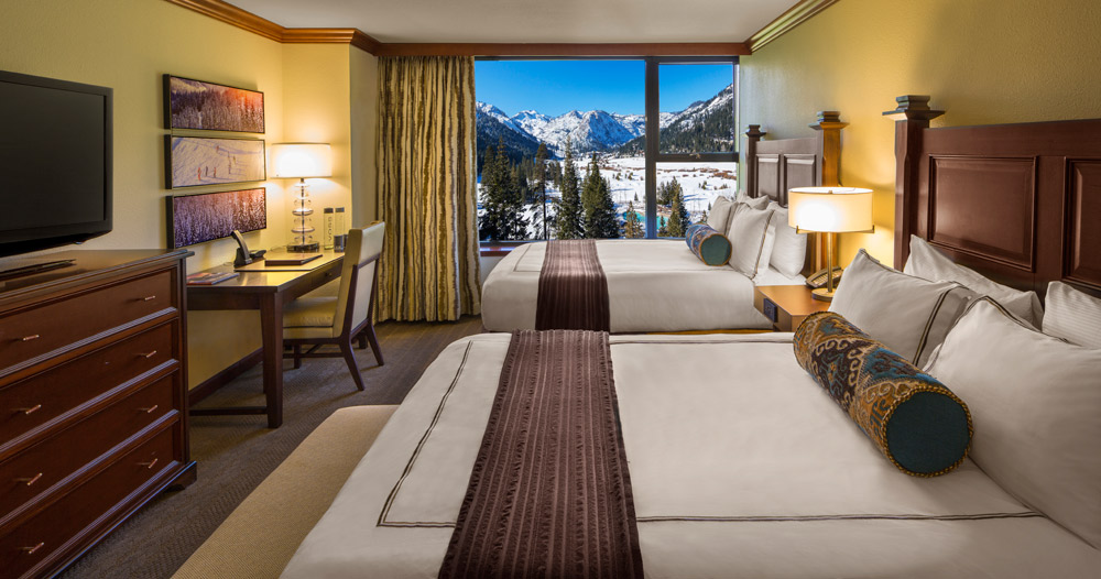 Deluxe Double Queen Guestroom at Resort at Squaw CreekCA
