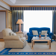 Presidential Suite Living Room at Hotel Okura Amsterdam