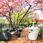 Outdoor Lounge at Hotel Okura Amsterdam