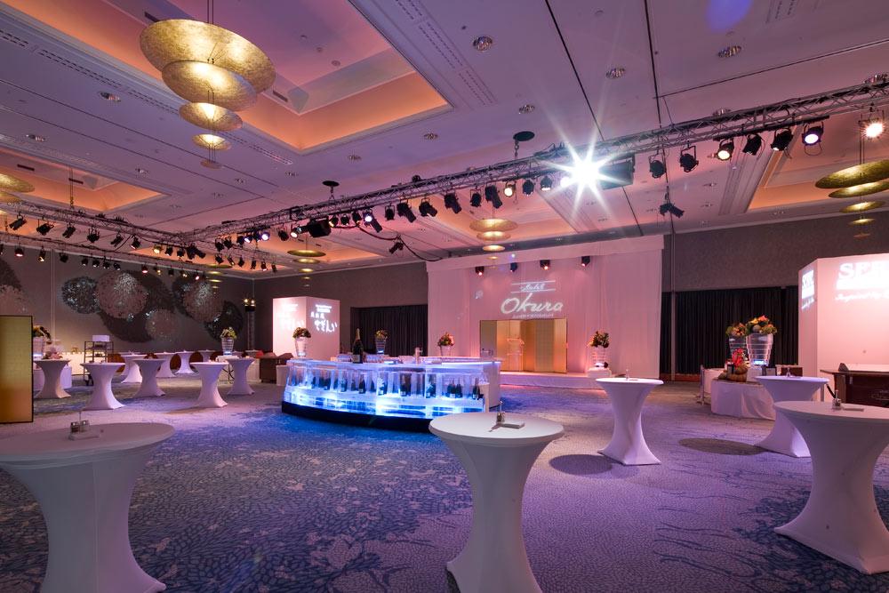 Grand Ballroom at Hotel Okura Amsterdam