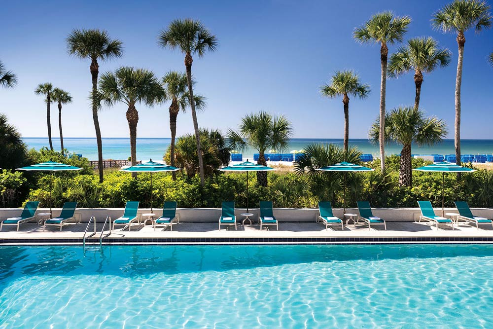 Pool View at Resort at Longboat Key Club