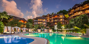 Exterior of Capella Marigot Bay ResortSt. LuciaWest Indies