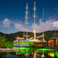 Marina at Capella Marigot Bay Resort, St. LuciaWest Indies