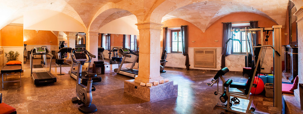 Gym at Son Julia Country House Hotel, Baleares, Spain