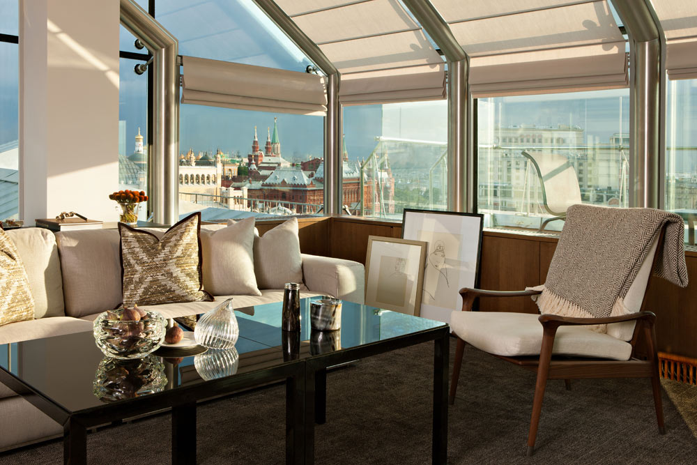 Winter Garden Suite at Ararat Park Hyatt Moscow, Moscow, Russia
