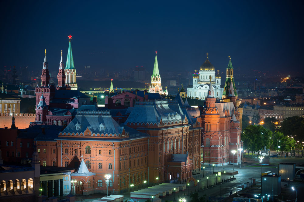 The Kremlin at Ararat Park Hyatt Moscow, Moscow, Russia