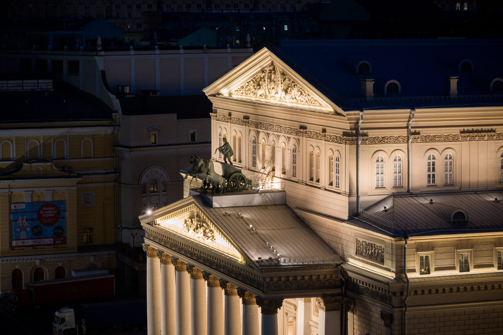 The Bolshoi Theater at Ararat Park Hyatt Moscow, Moscow, Russia