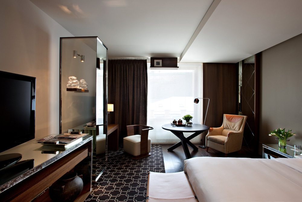 Deluxe Guest Room at Ararat Park Hyatt Moscow, Moscow, Russia