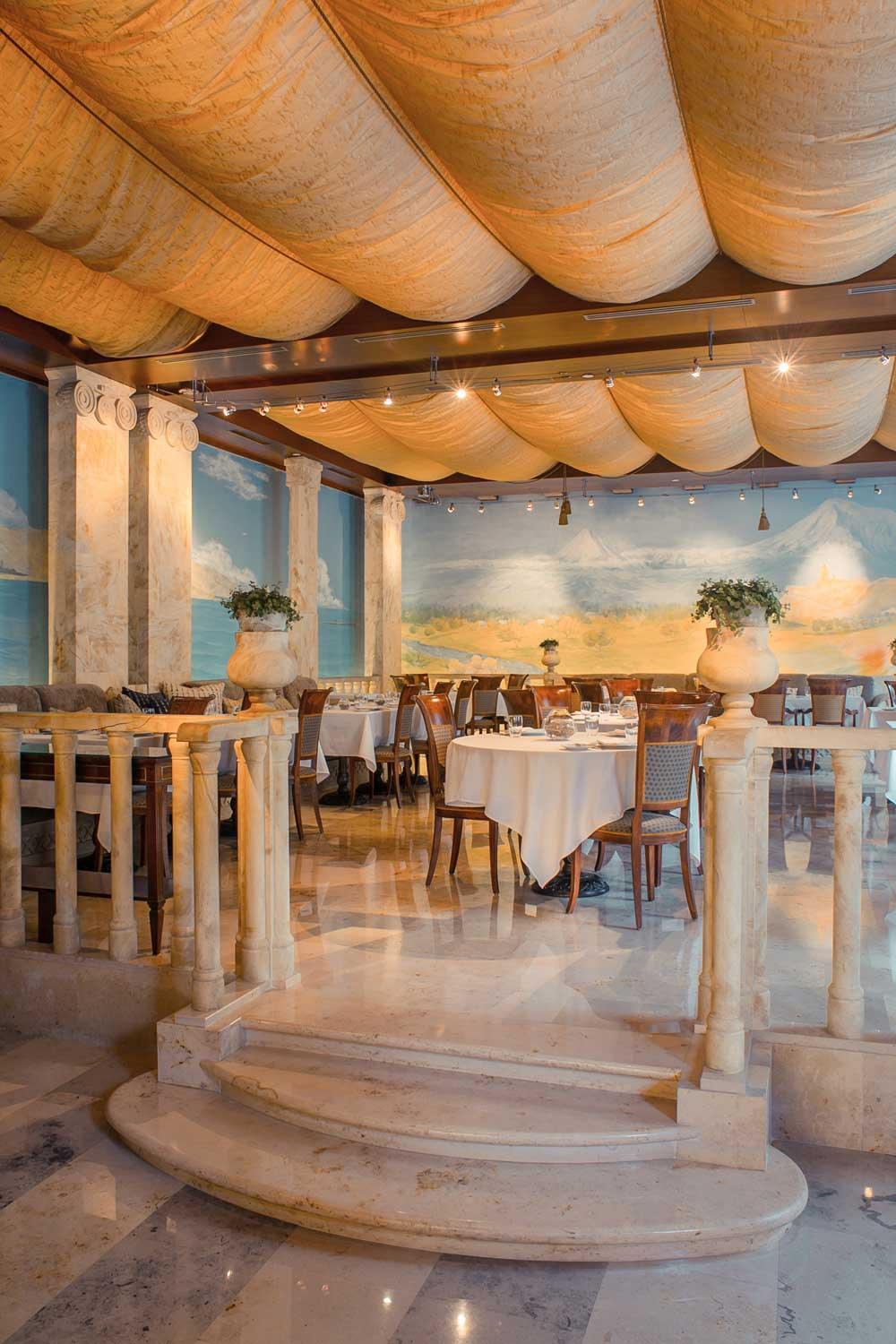Cafe Ararat at Ararat Park Hyatt Moscow, Moscow, Russia