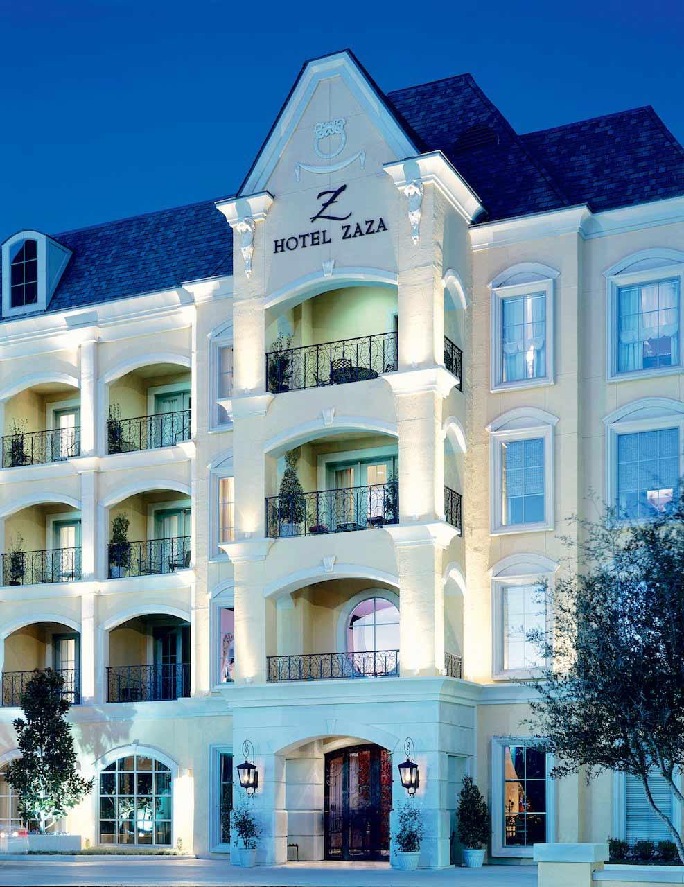 Exterior of Hotel Zaza DallasTexas