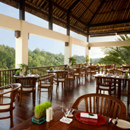 The Restaurant at Hanging Gardens Ubud in BaliIndonesia