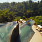 Pool at Hanging Gardens Ubud in BaliIndonesia