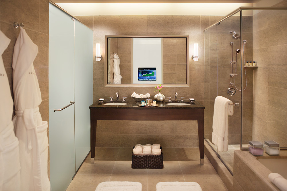 Bath at Trump International Hotel Chicago