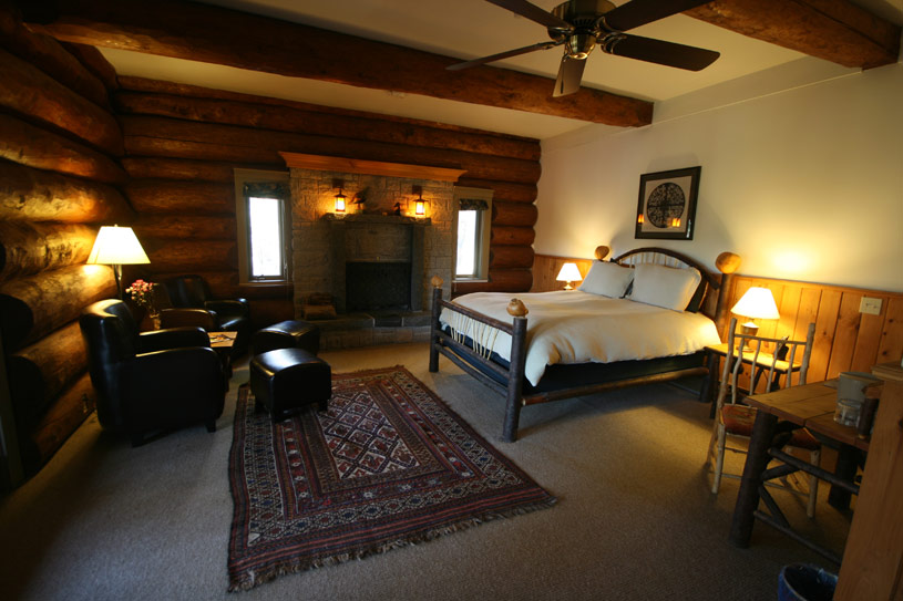 Guest Room at Trout Point Lodge