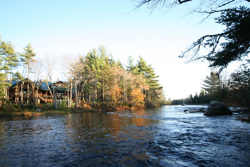 Lodge by the Tusket River at Trout Point Lodge
