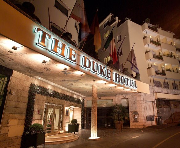 The Duke Hotel Rome Exterior
