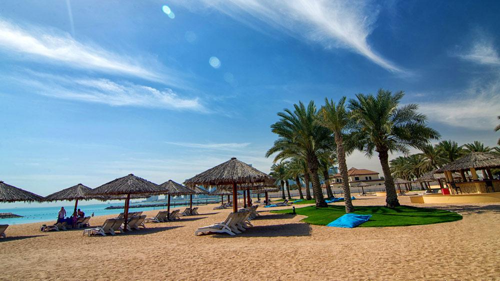 Beach Area at InterContinental DohaQatar