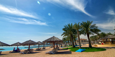 Beach Area at InterContinental Doha, Qatar