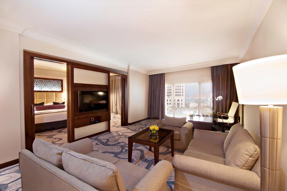 Diplomatic Suite Living Room at InterContinental DohaQatar