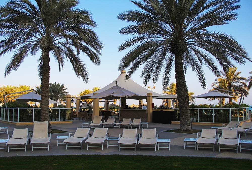Pool Bar and Restaurant at InterContinental DohaQatar