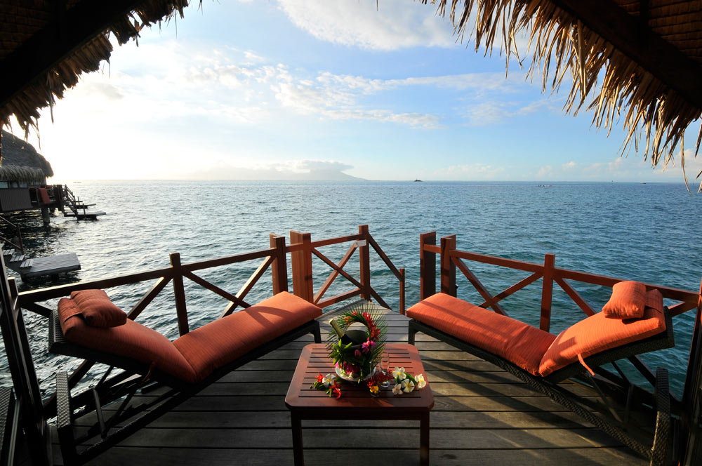Terrace Lounge at InterContinental Resort Tahiti, Papeete