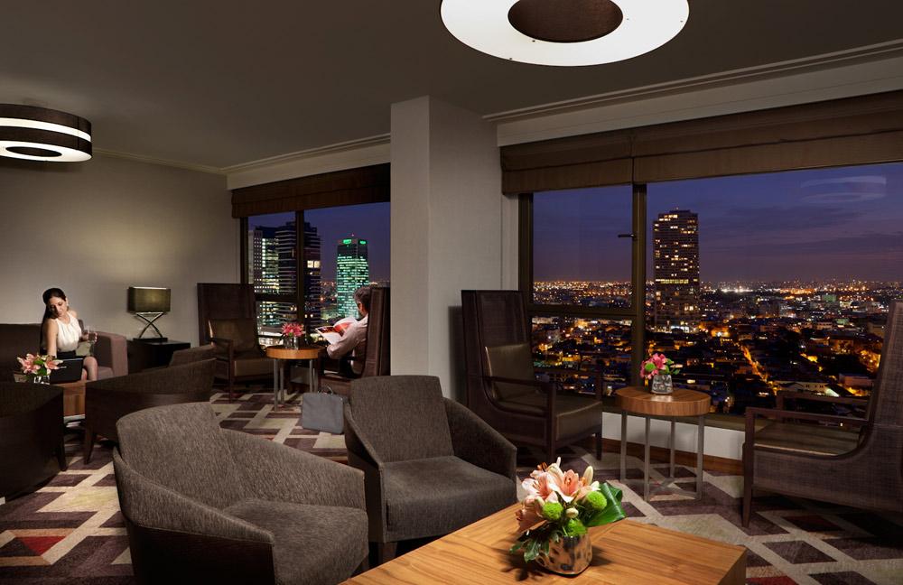 Lounge at InterContinental David Tel AvivIsrael