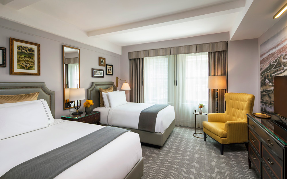 Double Guestroom at InterContinental The Barclay New York, NY
