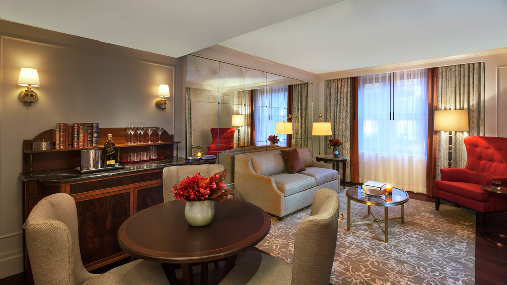 Suite Living Room at InterContinental The Barclay New YorkNY