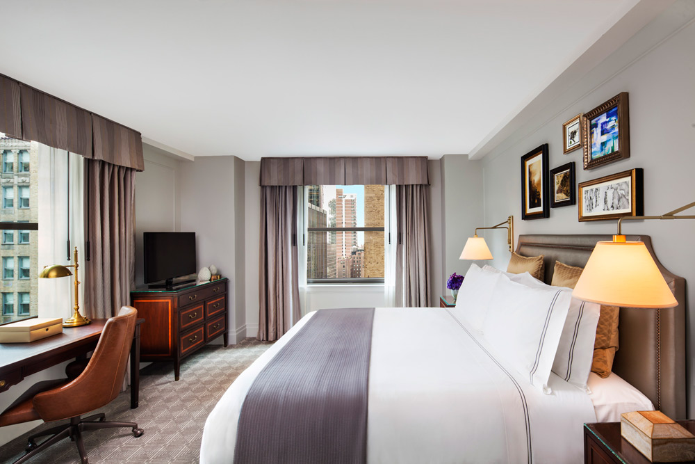 Guestroom at InterContinental The Barclay New YorkNY