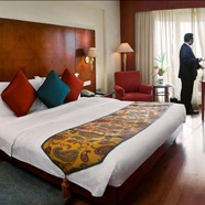 The Lalit Mumbai showing their superior room