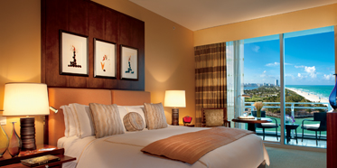 Ritz Carlton Bal Harbour Guestroom.