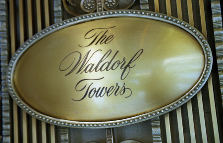 The Waldorf Towers New York
