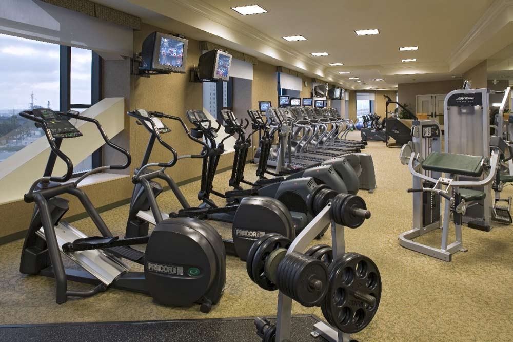 Fitness Center at Manchester Hyatt San Diego