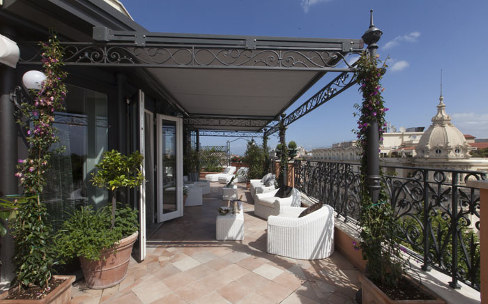 Regina Hotel Baglioni Roman Penthouse Private Terrace