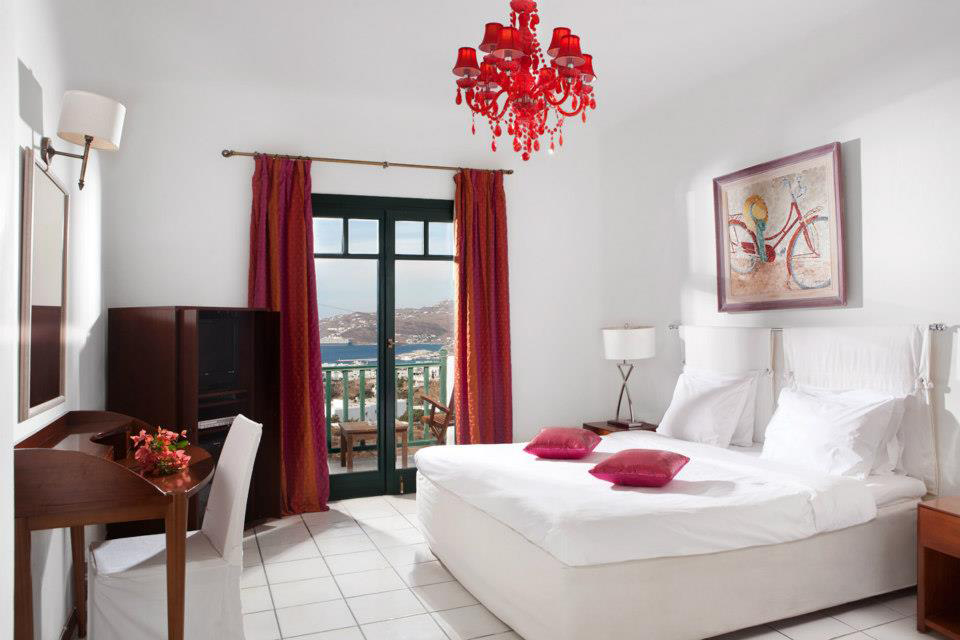 Guestroom at Tharroe of Mykonos