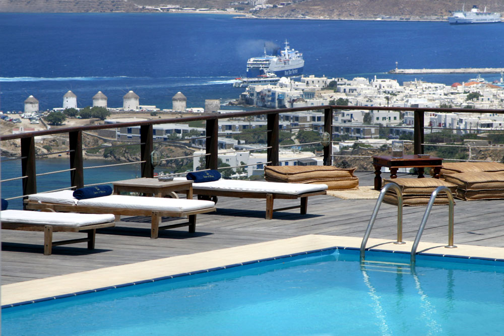 Pool at Tharroe Mykonos